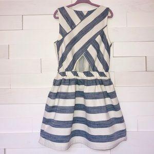 Zara linen dress.